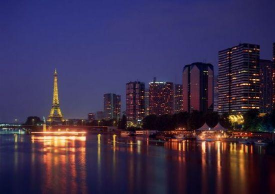 全球十大最美夜景城市 法国巴黎