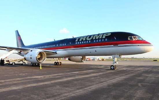 看全球最奢华私人飞机 唐纳德·特朗普