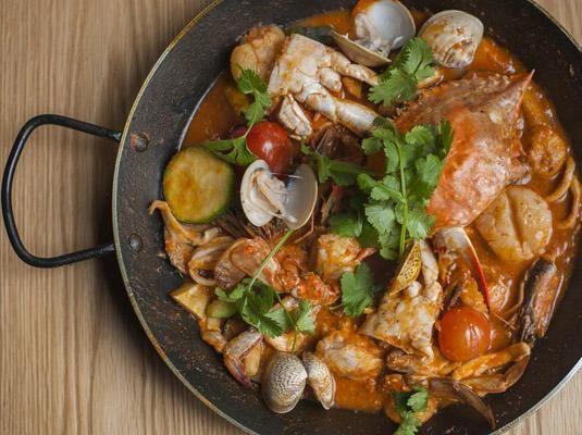 上海最美食西班牙海鲜饭地图:OysterKitchen等,美味南京交通银行,图片