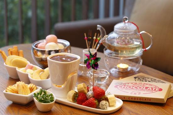 传统英式下午茶 手绘