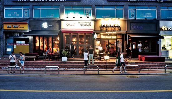 最新韩国旅游购物攻略 梨太院