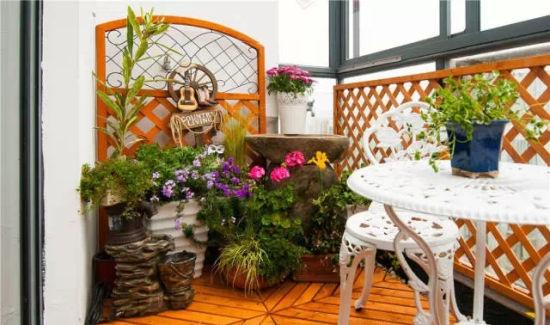家庭小花园设计实景图-五一上海各处的花卉世界 上海花展