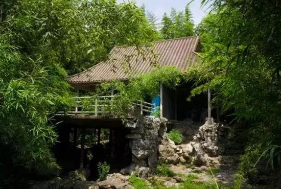 """公园""""秘境"""" 上海动物园     上海动物园""""金鱼廊河岸""""   假装在瘦西湖"""