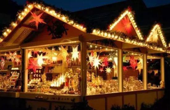 圣诞小木屋礼物集市