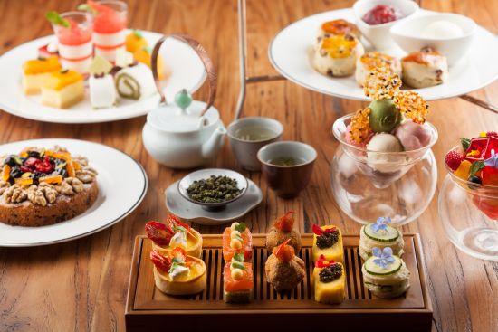 上海金茂君悦大酒店推出天庭冬季下午茶图片