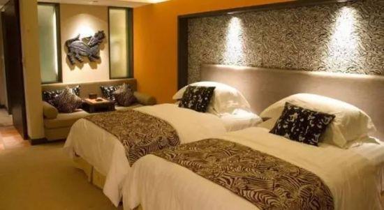 背景墙 房间 家居 酒店 设计 卧室 卧室装修 现代 装修 550_301