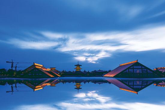 广富林遗址公园图片