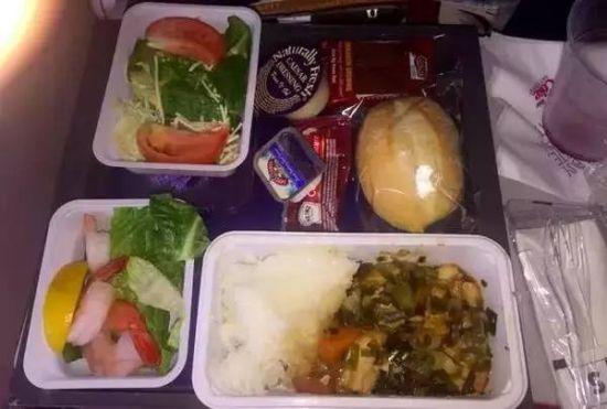 全球飞机餐大比拼:达美航空等