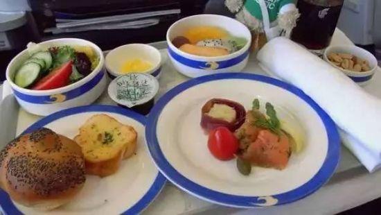 全球飞机餐大比拼:荷兰皇家航空等