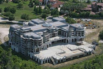 """全球那些豪华私人别墅:佛州""""凡尔赛宫""""等"""