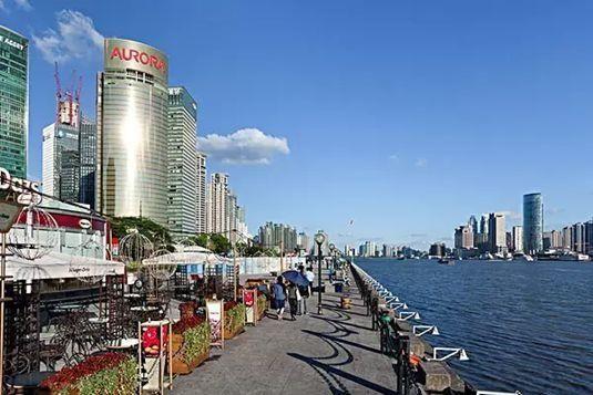 上海城市街道掠影图片