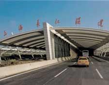 上海长江隧道进口