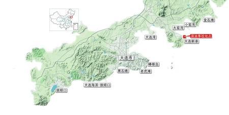 大连棒棰岛景区地图