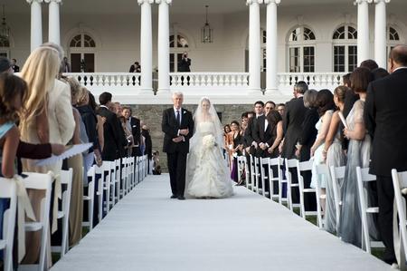 7月31日的婚礼在美国历史上必定是前无古人的