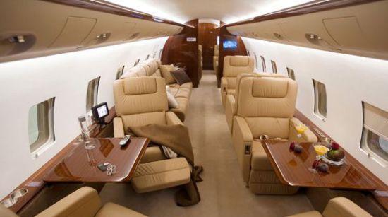 三架世界顶级私人飞机恭迎中国飞行时代