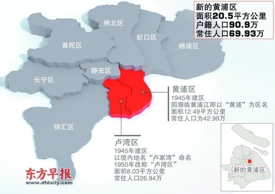 上海市区划分地图