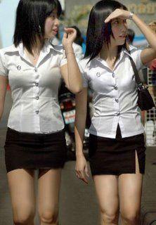 mini jupe scolaire