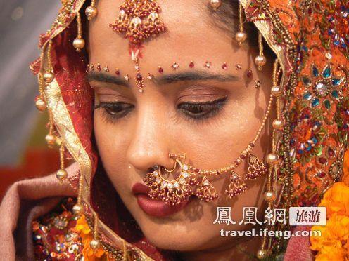 美丽的印度女子
