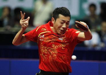 乒乓球——中国公开赛:许昕获得男子单打冠军