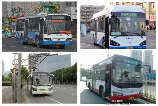 上海多条公交线路试点普通话上海话英语三语报站