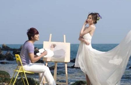 棒棰岛婚纱摄影