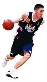 上海男篮6号球员章文琪。