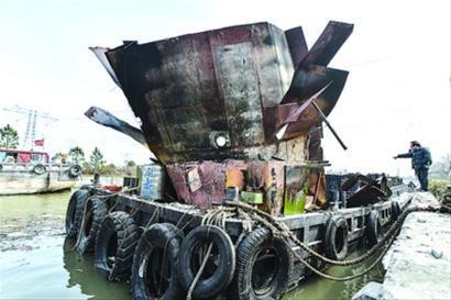 4个油桶自制船图纸