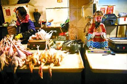 组图:曹安市场营业的最后一天