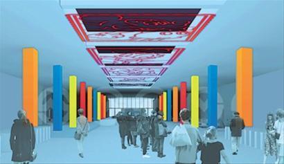 迪士尼站方案5:将梦想变成现实的理想王国(效果图)