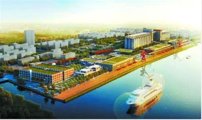 民生港大型改造项目效果图。