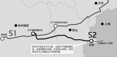 苏州轨交S2线将对接11号线 未来可坐地铁去赏园林图片