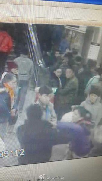 女乘客地铁内遭男子猥亵