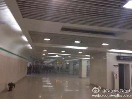 车站很快对乘客进行了疏散