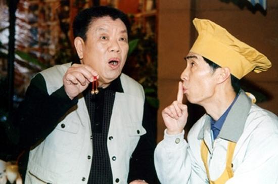 王双柏(左)的滑稽戏深入人心。