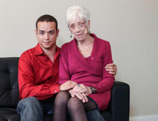91岁女友和31岁男友 无法理解的真爱图片