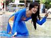 实拍越南街头美女
