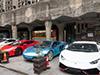 上海街头超跑聚会