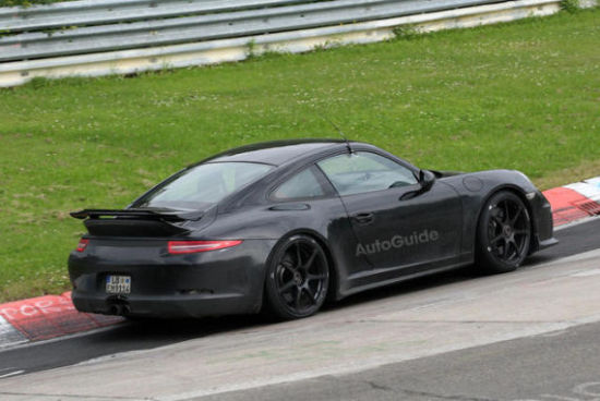 全新保时捷911 GT3谍照