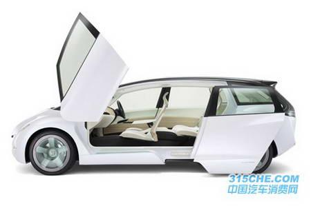 本田skydeck概念商務車高清圖片
