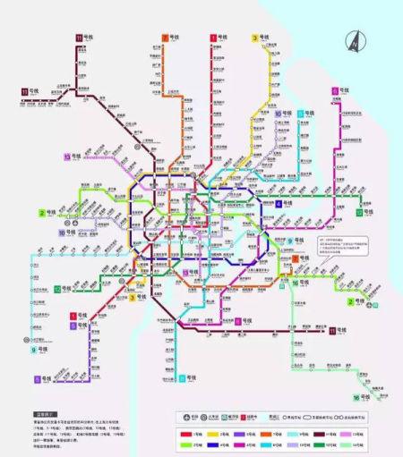 上海2013最新地铁图_据说这是最新最全的上海地铁攻略_旅游资讯_新浪上海