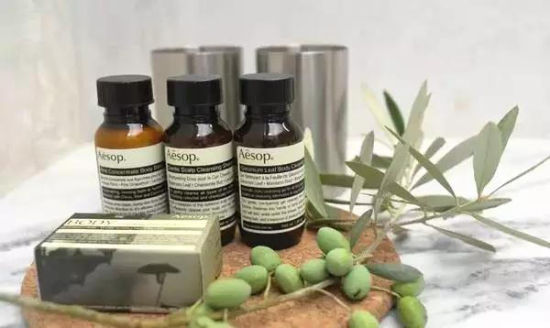 Image result for Aesop酒店洗护用品